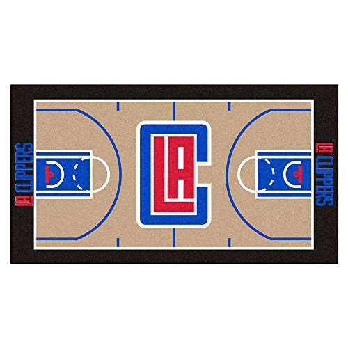 FANMATS NBA Los Angeles Clippers Nylon Face NBA Court Runner-Small