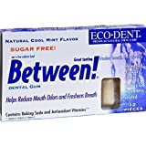 Eco Dent Between Dental Gum Mint 12 Ct