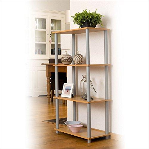 Rovere 6 Vani WINK DESIGN Nancy Libreria Legno 71x30x120 cm