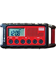 Midland ER300 Emergency Solar AM FM Digital Radio Weather Alert and Flashlight