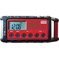 Midland ER300 Emergency Solar AM FM Digital Radio Weather Alert and Flashlight