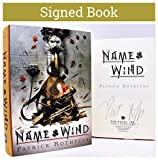 The Name of the Wind Illustrated AUTOGRAPHED BOOK Patrick Rothfuss SIGNED COA 6998