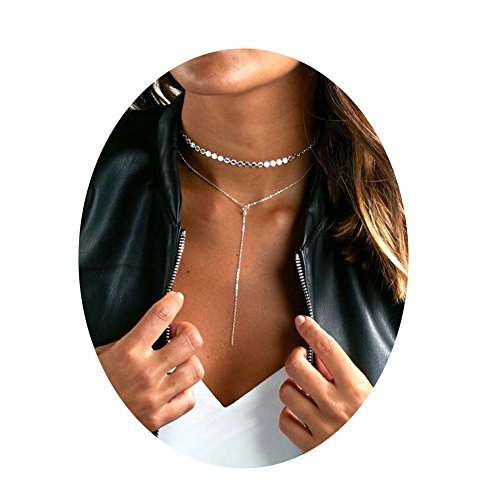 Zealmer Adjustable Lariat Choker Necklace