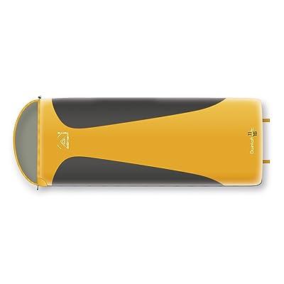 Elementerre dwinloft–Sac de couchage compact, orange/gris, Taille 210x 75