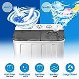 4-EVER Portable Washing Machine 17lbs Compact