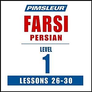 Pimsleur Farsi Persian Level 1 Lessons 26-30 Speech