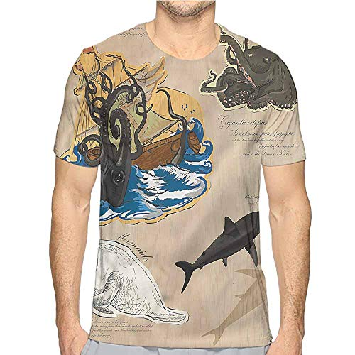 Comfort Colors t Shirt Mystic,Sea Monsters Pirate t Shirt S]()