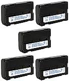 Sokkia 7380-46 Survey GPS Battery Combo-Pack Includes: 5 x SDGPS-L1302 Batteries