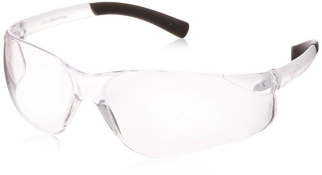 Pyramex S2510S Ztek Safety Glasses, Standard Size, Clear Lens and Frame (Pack of 12)