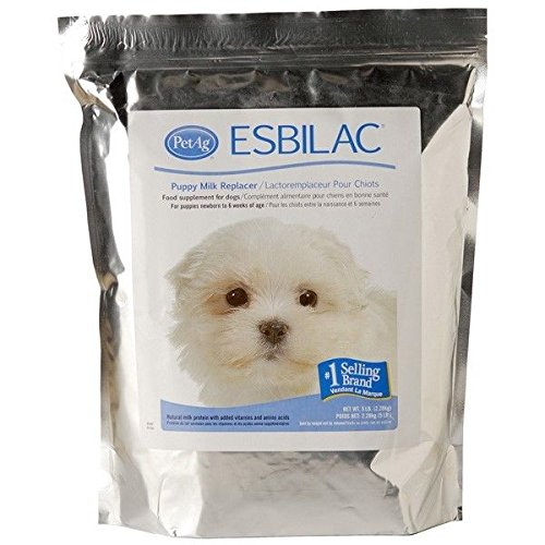 Esbilac Puppy Milk Replacer Powder (DOG NURSING - Pick The Products You Need to Nurse Your Puppy - Milk Replacers(5lb Milk Replace)