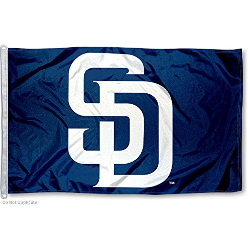 MLB San Diego Padres 3-by-5 foot Flag