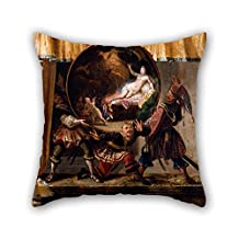 The Oil Painting Jacques Vigoureux Duplessis - Painted Fire Screen Pillow Covers Of 16 X 16 Inches / 40 By 40 Cm Decoration Gift For Gf Bedroom Valentine Husband Adults Play Room (twice Sides)