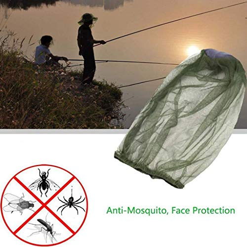 Panzisun 2PCS Professional Beekeeping Supplies Protection Mask Anti Bee Mosquito Insects Veil For Beekeeper Fishman Farmer Woman Man]()