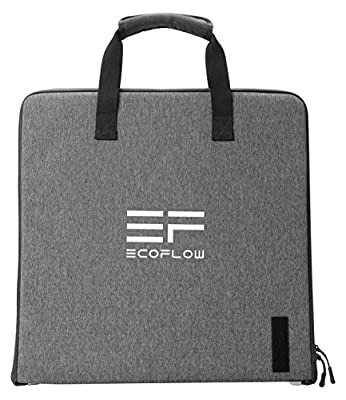 River EFTSP50W EcoFlow Zippable 50W Solar Panel, USB and DC outputs, rugged and made with element-proof material