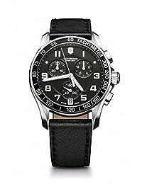 Victorinox Swiss Army Men's 241493 Chrono Classic Black Chronograph Dial Watch Watch
