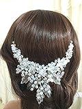 FloweRainbow bridal crown, floral wedding tiara