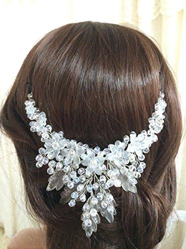 FloweRainbow bridal crown, floral wedding tiara by FloweRainboW