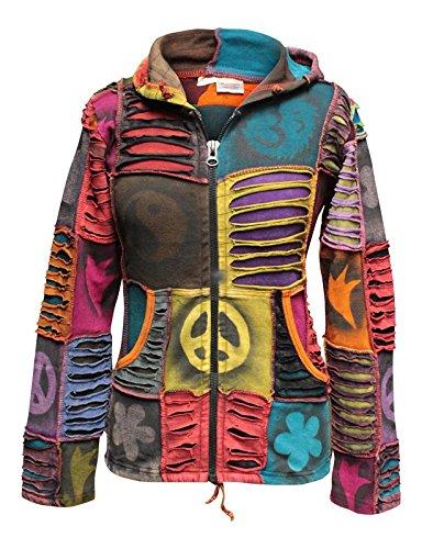 Shopoholic-Fashion-Women-Pixie-Hippie-Emo-Gothic-Hoodie-Hippy-Sweater-Boho-Cardigan