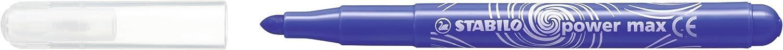 Astuccio da 12 STABILO Power Max Pennarello XL colori assortiti