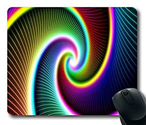 """Gif Standard Mouse Pad Oblong Design Mousepad in 220mm*180mm*3mm (9""""*7"""") -102114 by ruishername"""
