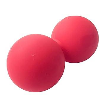 houseHome bola de masaje doble Lacrosse pelota ejercicio muscle ...