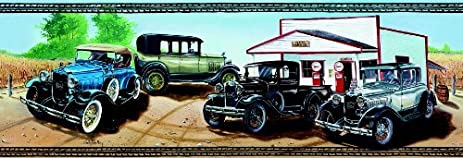 Ford Model A Classic Cars Wallpaper Border By Papascarsandmore Com
