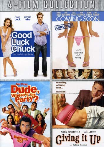 Four-Film Collection (Good Luck Chuck / Coming Soon / Dude, Where's the Party / Giving it Up)