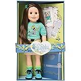 Maplelea Taryn 18 Inch Doll (long brown hair, fair skin, brown eyes)