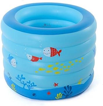 WDXGZY Engrosado Inflable Piscinas Babys Piscina para niños Bañera Redonda Zwembad Piscina Havuz más Grande Tamaño 106 * 75 CM: Amazon.es: Hogar