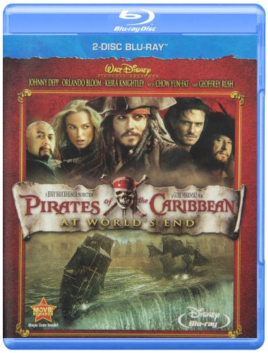 Blu-ray : Pirates Of The Caribbean: At World's End [2-Disc Blu-ray/ DVD Combo] (With DVD, 3 Disc)