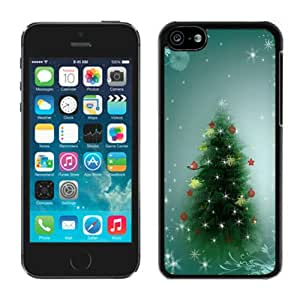 Charming christmas trees nice picture top quality nice black iPhone6 case 4.7 inches protection shell for sale by LeTian Case