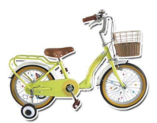 Lupinusルピナス 自転車 16インチ LP-16NKN 子供自転車 キッズバイク 100%完成車 B00VLJ8EH0 マカロンイエロー マカロンイエロー