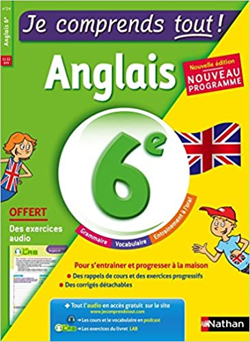 Amazon Fr Anglais 6eme Cours Exercices Audio Je