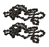 Homelite UT10540 UT10517 Chainsaw (2 Pack) Replacement 18' Chain .375 x 62 Link # 671258001-2pk