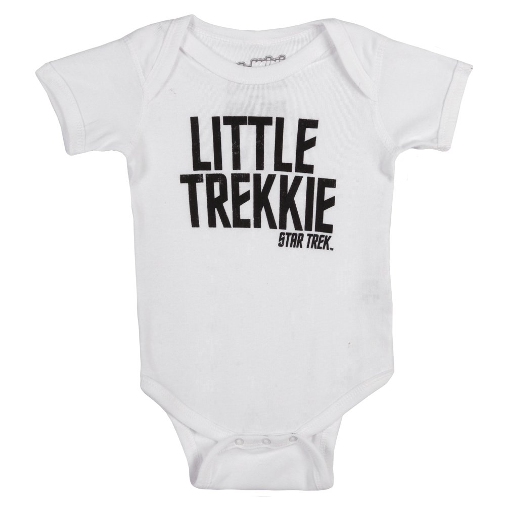 Star Trek Little Trekkie Baby Romper Snapsuit Mighty Fine QC222BOY1