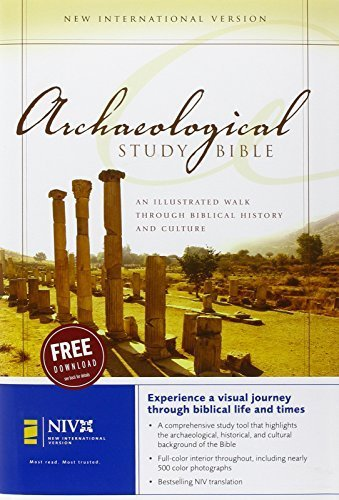 NIV Archaeological Study Bible: An Illustrated Walk Through Biblical History and Culture by (2006-02-27)