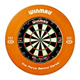 WINMAU ORANGE DARTBOARD SURROUND RUBBER RING by PerfectDarts