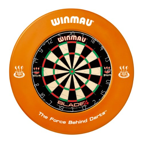 WINMAU ORANGE DARTBOARD SURROUND RUBBER RING by PerfectDarts by PerfectDarts