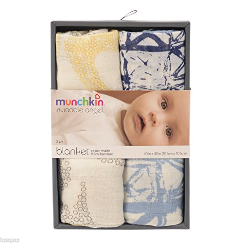 Cheap Munchkin Swaddle Angel – X-Batik and Boomerang Prints – 2 ct