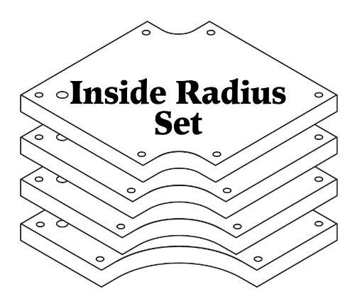 - Woodhaven 3655 Inside Radius Set