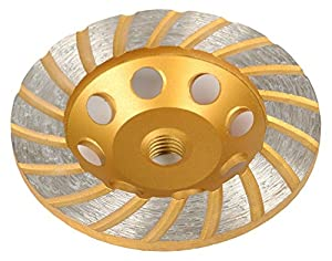"ATE Pro. USA 40178 4-1/2"" Diamond Turbo Cup Wheel 18-Teeth, 20.5"" Length, 15.5"" Width"