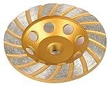 ATE Pro. USA 40178 4-1/2'' Diamond Turbo Cup Wheel 18-Teeth, 20.5'' Length, 15.5'' Width