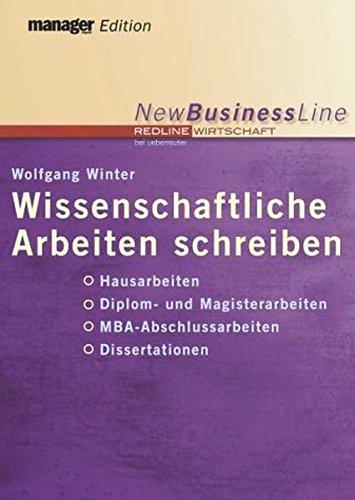 Download Wissenschaftliche Arbeiten schreiben. PDF