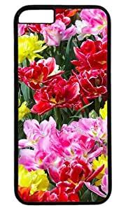Wildflowers DIY Hard Shell Black Special For iphone 6 Plus Case