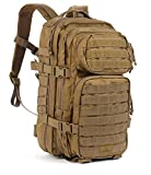 Red Rock Outdoor Gear Assault Pack (Medium, Coyote Tan)