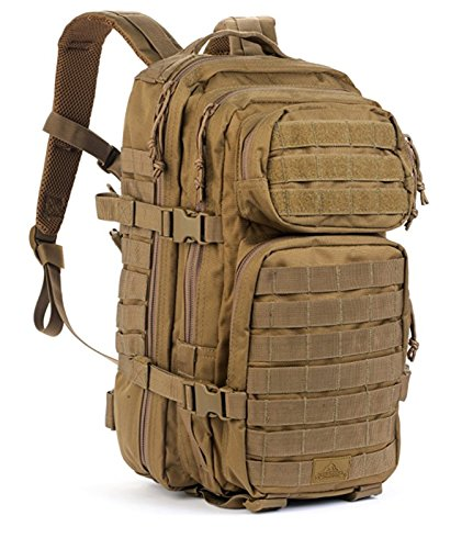 Red Rock Outdoor Gear Assault Pack (Medium, Coyote Tan) (Rock Pack Performance)