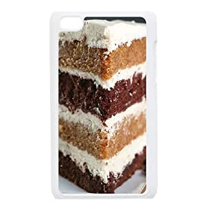 LSQDIY(R) Layered Cake iPod Touch 4 Hard Back Case, Personalized iPod Touch 4 Case Layered Cake