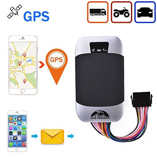 (XCSOURCE GPS303-F Waterproof Real Time GPS Tracker GSM/GPRS/SMS System Anti-Theft Tracking Device for Vehicle Car Motorcycle)