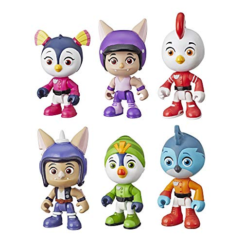 (Top Wing 6-Character Collection Pack)
