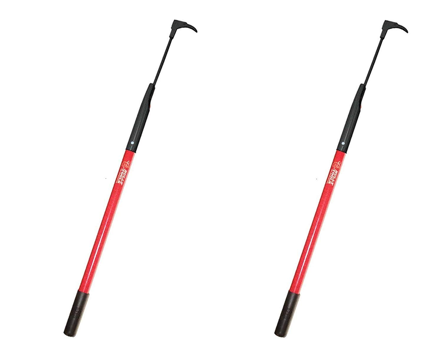 Bully Tools 92395 7-Gauge 3-Inch Bean Hook/Paver Weeder with Dual-Sided Blade (Pack of 2)